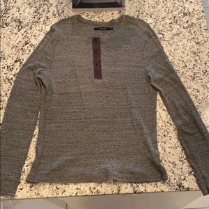 J brand gray long sleeve shirt